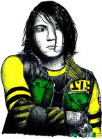 Frank Iero as Fun Ghoul by BarbaraBarracuda