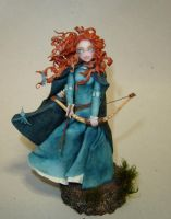 Brave: Merida by Fairiesworkshop
