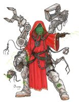 Techpriest by PlumpOrange