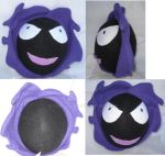 Handmade Gastly Plush by Yumio-chan