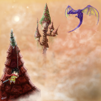 Legand of 3 towers by Pal590