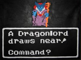 A Dragonlord Draws Near! by Squarepainter