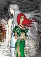Merry and Frost_Red and White by Evirina
