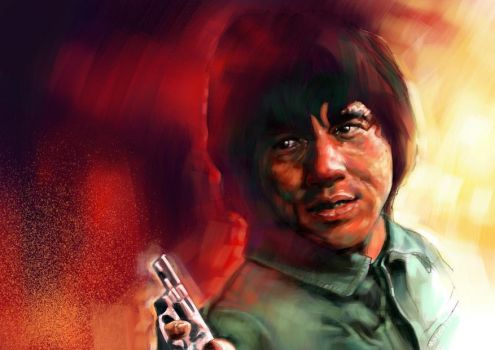 jackie chan by Marcus86