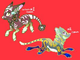 Creature Adoptable's! by DroidDragon27