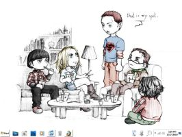 The Big Bang Theory Classic by wallybescotty
