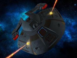 Starships in Action 7 - Norway class by unusualsuspex