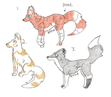 Adoptables OPEN by StrawberryJam-Adopts