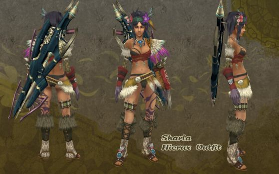 Xenoblade - Sharla Hierax outfit by dsync89