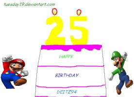 Mario Birthday by AlexanderH1992