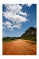 Glasshouse Mountains by Cameron-Jung