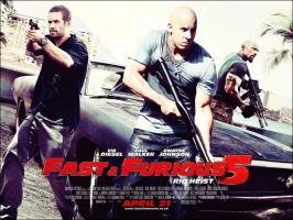 Fast and Furious 5 by tuhin98