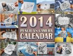 2014 Calendar - Pencil Vs Camera by BenHeine