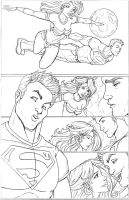 Superboy Wonder Girl 001 by nathanscomicart