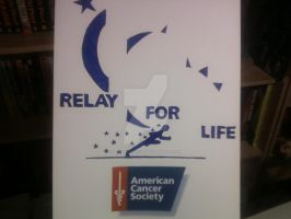 RELAY FOR LIFE T-SHIRT DESIGN by shawncomicart