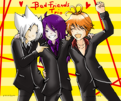Novices: Bad Friends Trio by Tomocchan