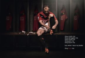 Wayne Rooney by Niveche