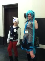 Soul and a male Miku by jt0002