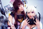 Kan Colle Yamato and the Midway Princess Cosplay by K-I-M-I
