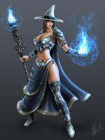 Tales of Magic - Sorceress by RaffaelePicca