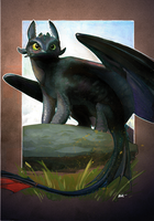 Toothless by Katheairene