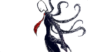 The Slenderman - Flockdraw by bakasama14
