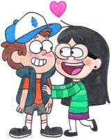 Candy's in Love with Dipper by nintendomaximus
