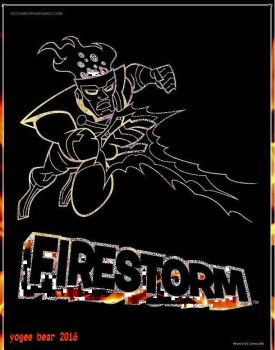 Firestorm by killabearcomics