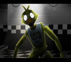 Chica at your service by Mearow