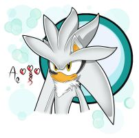 Silver the Hedgehog - SA Style by AR-ameth