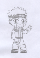 Chibi Naruto by Cypher7523