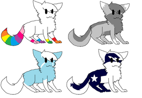 Adopts #5 -Open- by Furry-Adopts576
