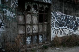 Derelict 7 by hyannah77-stock