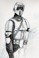 Scout Trooper by sebadorn