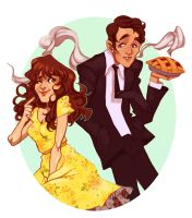 Pushing Daisies by vanduobones