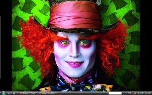 MyWallpaper The Mad Hatter by erin72