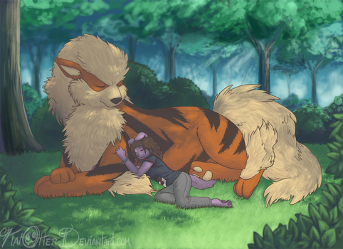 Peyt's Arcanine by KatOtter