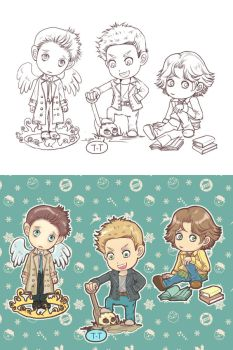 CHIBIS IN SPN by DYKC