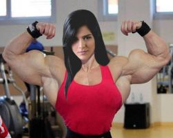 Andressa-muscled by Turbo99