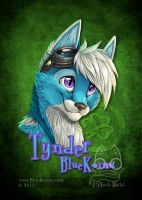 TynderBluekoinu ConBadge 2013 by bluekoinu