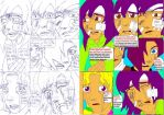 Akitos accident(Akito awakes)(1)(Before and after) by VegettoLovesDBZ