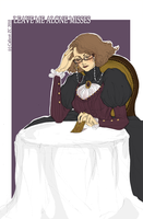 Mrs M. 05 The last card by Calicot-ZC