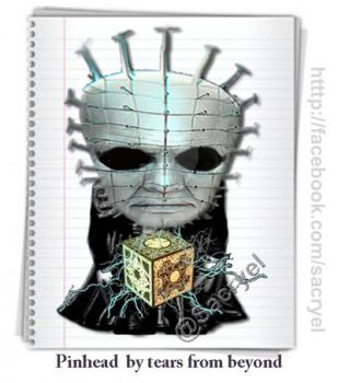 Pinheadcito (litle Pinhead ) by TearsFromBeyond