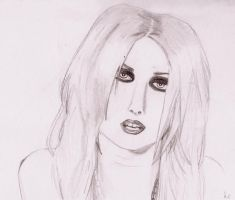 Taylor Momsen sketch by ApwilCakes