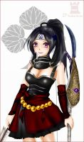 Ina hime_Samurai Warriors3 by Draven4157