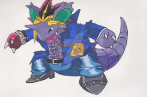Yugioh Nidoking of Games by AlPendragon