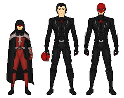 Earth 133: Red Hood by Dudewithasmile