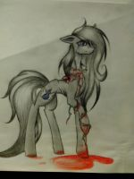 Bleeding Roses by moonlightgleam