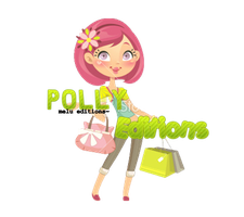 Texto PNG Polly Editions by Melody478