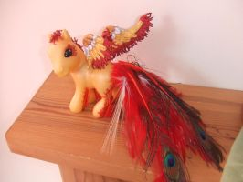 Phoenix My Little Pony Custom by lilacamy931